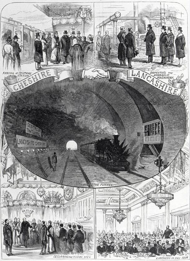 Открытые Туннеля Реки Мерзи
