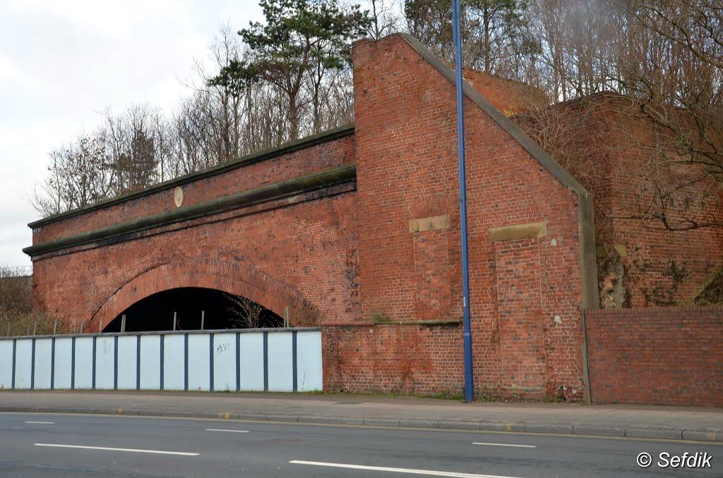 Портал туннеля Виктория-Ватерлоо. Фото: Sefdik